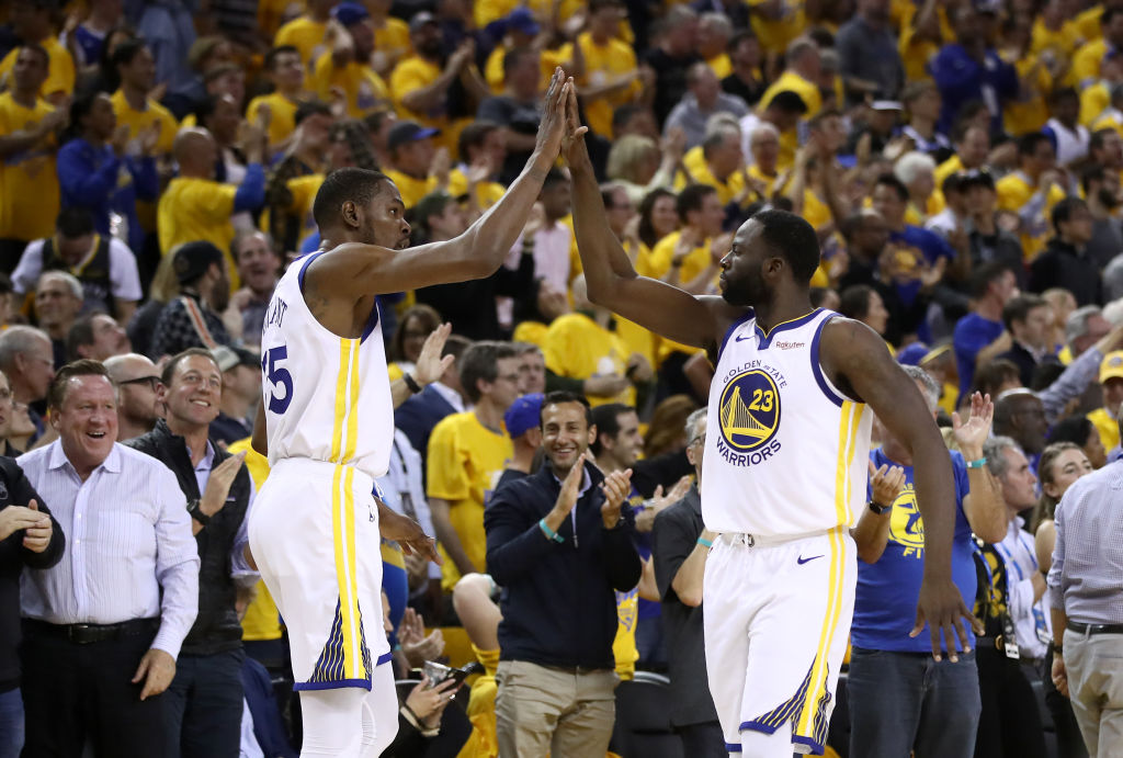 Kevin Durant Reportedly Stopped Talking To Warriors Teammates