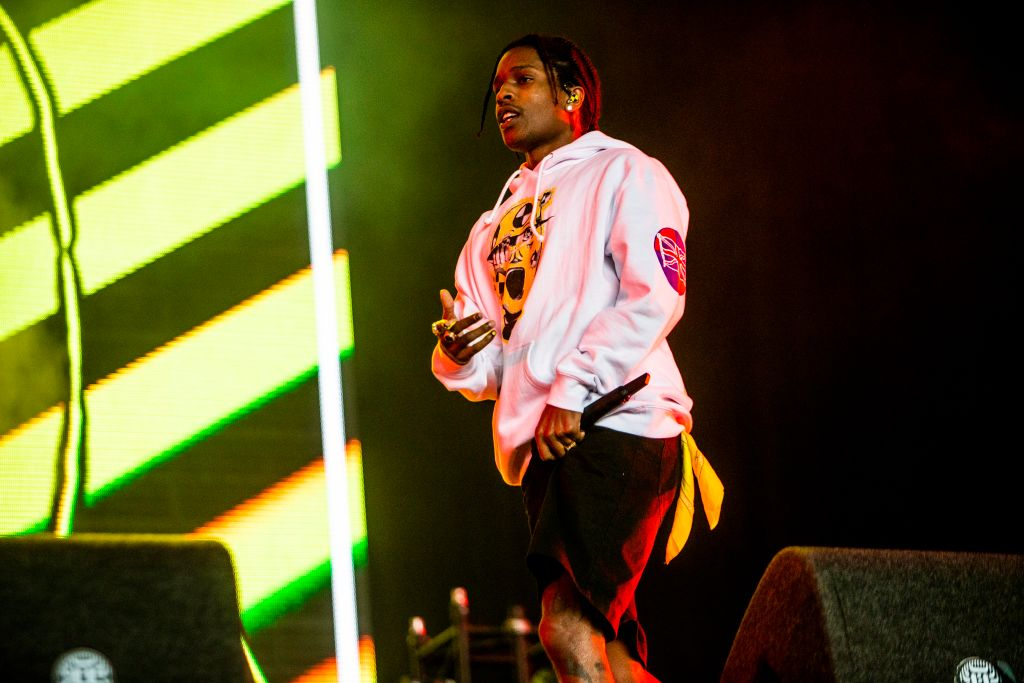 A$AP Rocky Performs At Lowlands Festival 2019