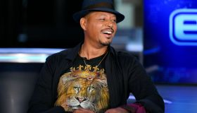 Tyler Cameron and Terrence Howard Visit Extra