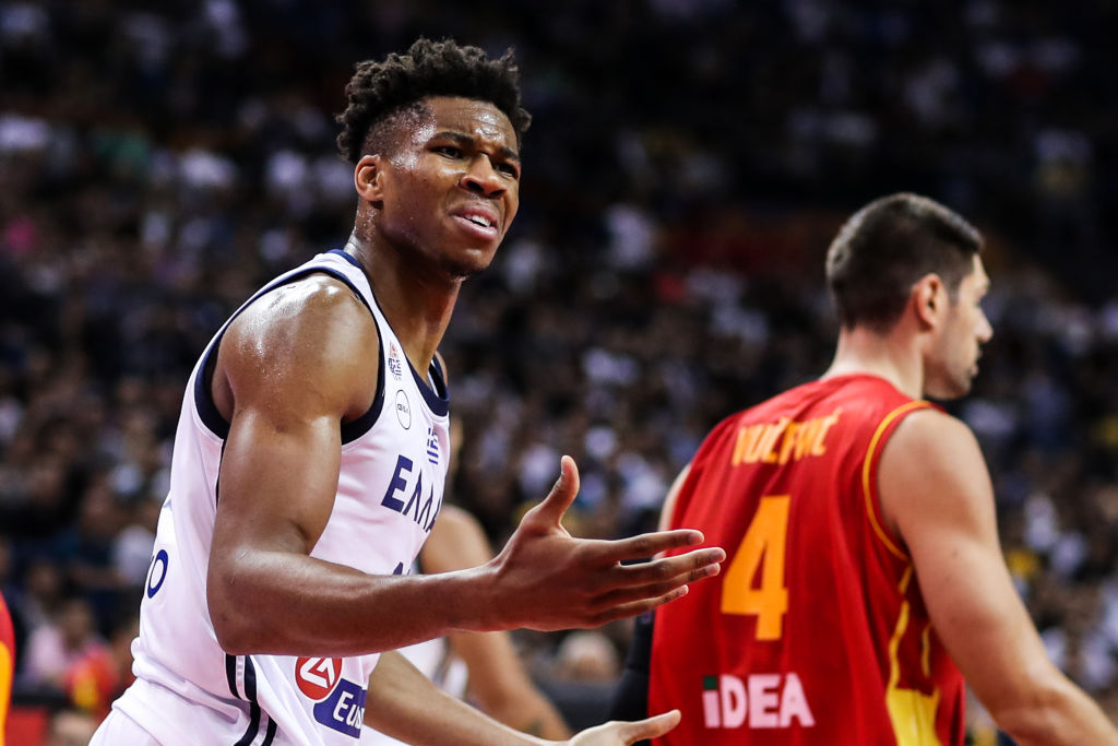 Greece v Montenegro: Group F - FIBA World Cup 2019