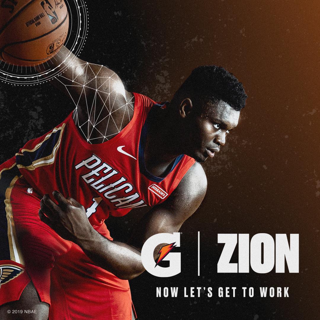 Zion Williamson x Gatorade