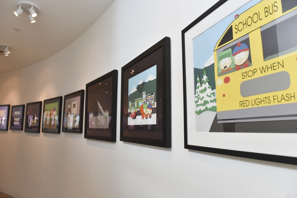 'South Park 20 Experience' Exhibit Preview
