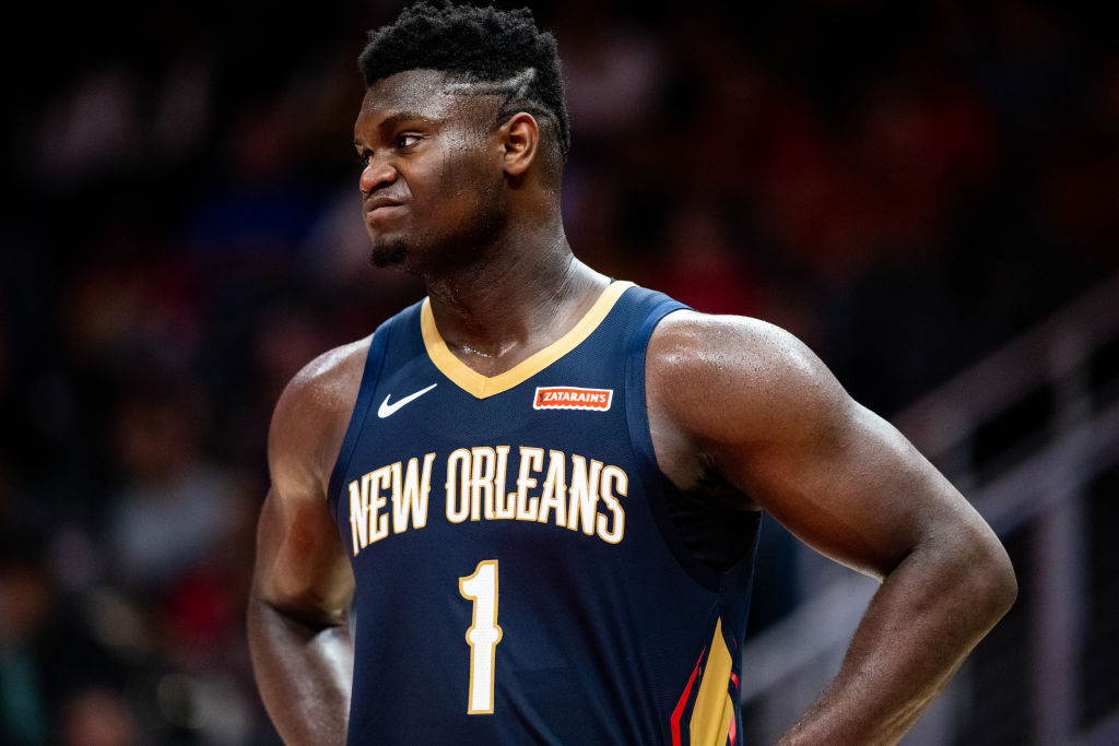 Zion Williamson Ruled Out For 6-8 Weeks Following Knee Surgery