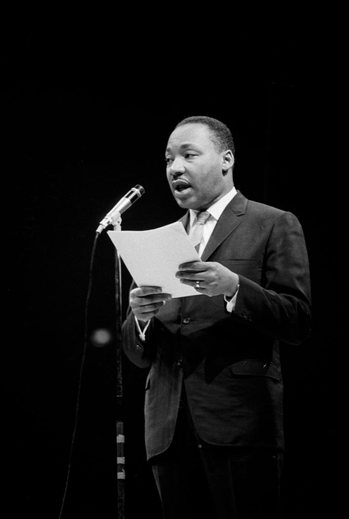 Martin Luther King à Paris en 1966