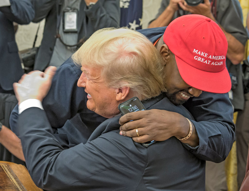 Kanye West Praises Donald Trump For Allowing Him To Buy Land