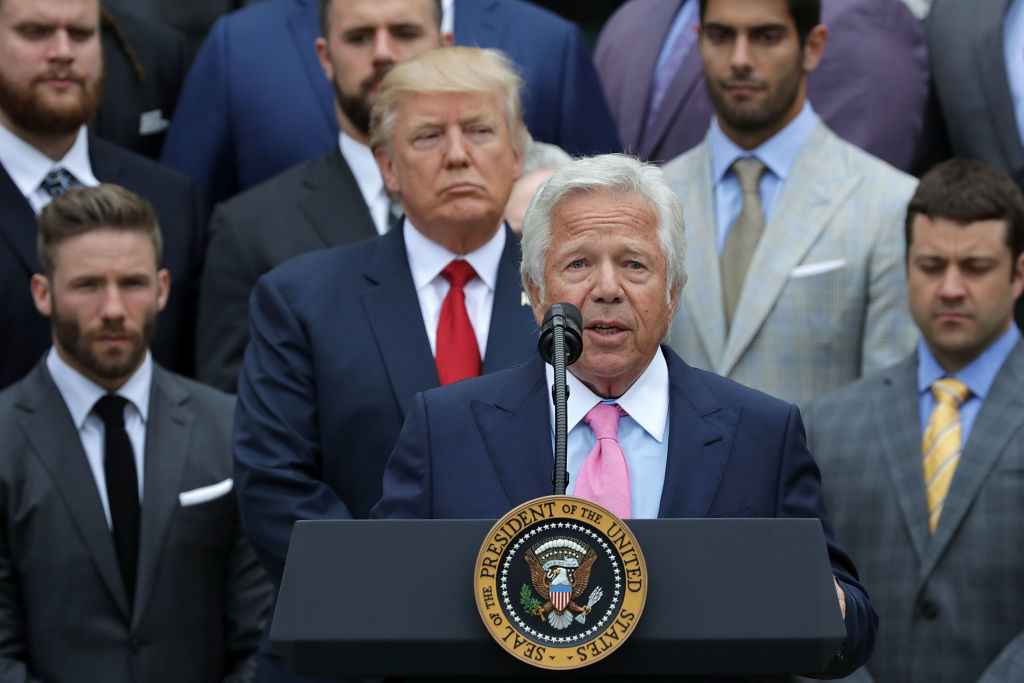 Robert Kraft Called Out Donald Trump For His Stance On Kneeling