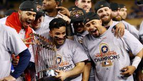 2017 Major League Baseball World Series Game Seven: Houston Astros v. Los Angeles Dodgers