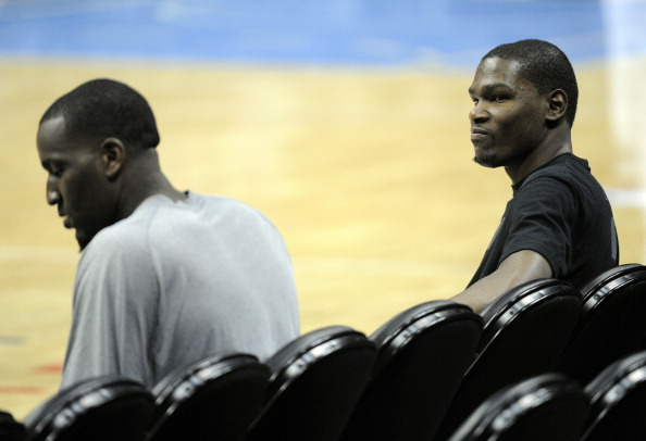 Kevin Durant Claps Back At Former Teammate Kendrick Perkins On Twitter