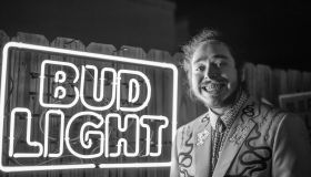 Post Malone Performs For Bud Light's Dive Bar Tour At The Exit/In In Nashville