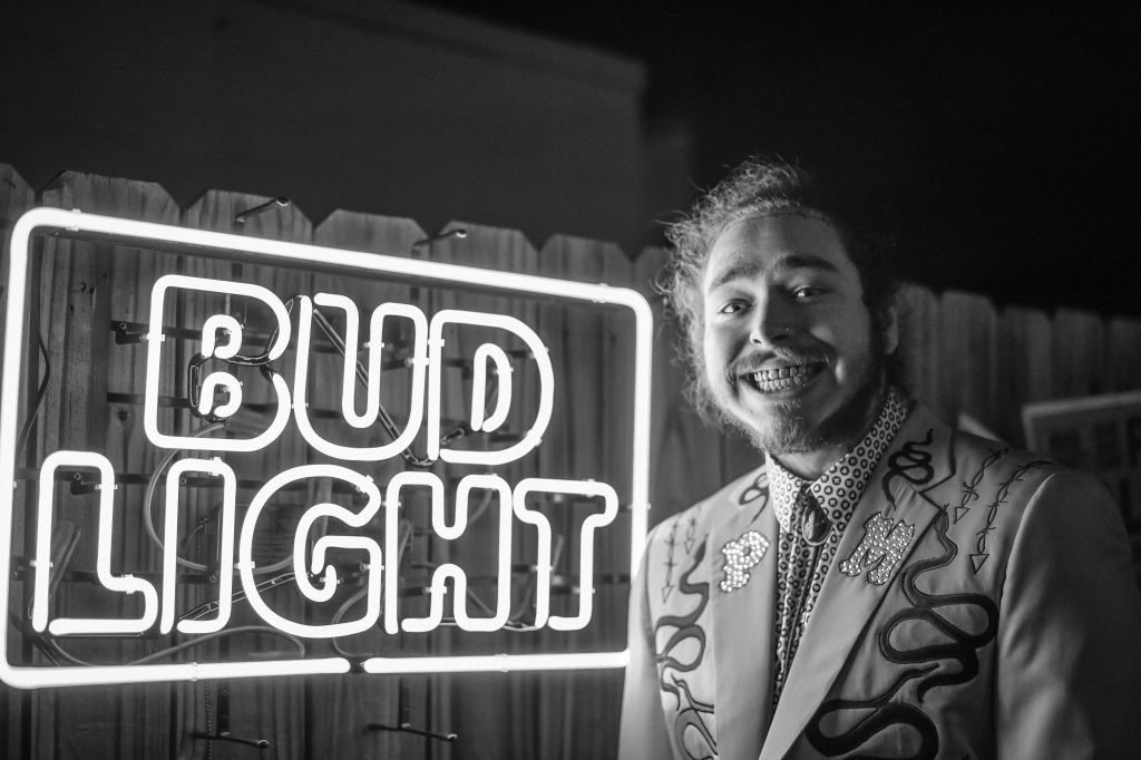 Post Malone Stars In Two New Bud Light Seltzer Super Bowl Commercials