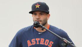 Houston Astros Media Availability