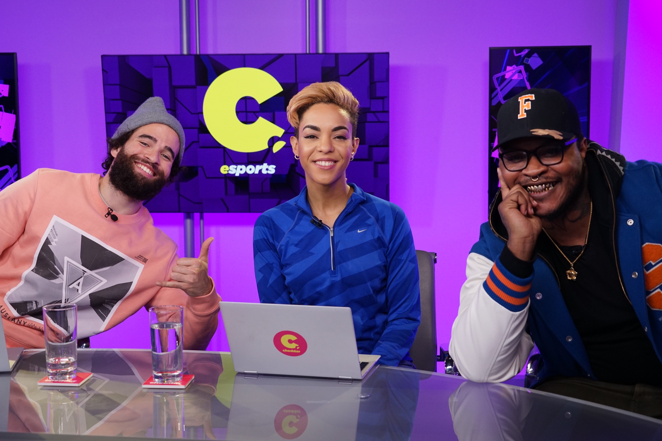 CASSIUS Chats With Cheddar Esports Host, Erin Ashley Simon