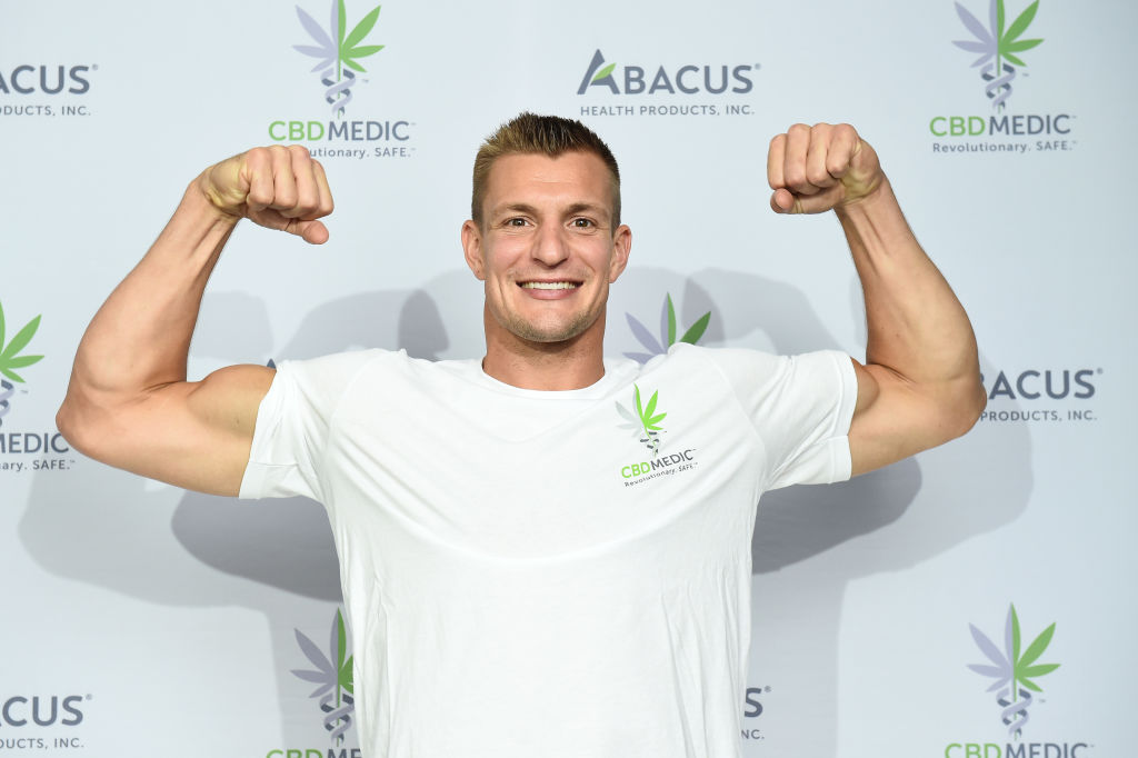 Rob Gronkowski Becomes An Advocate For CBD And Partners With Abacus Health Products, Maker Of CBDMEDIC