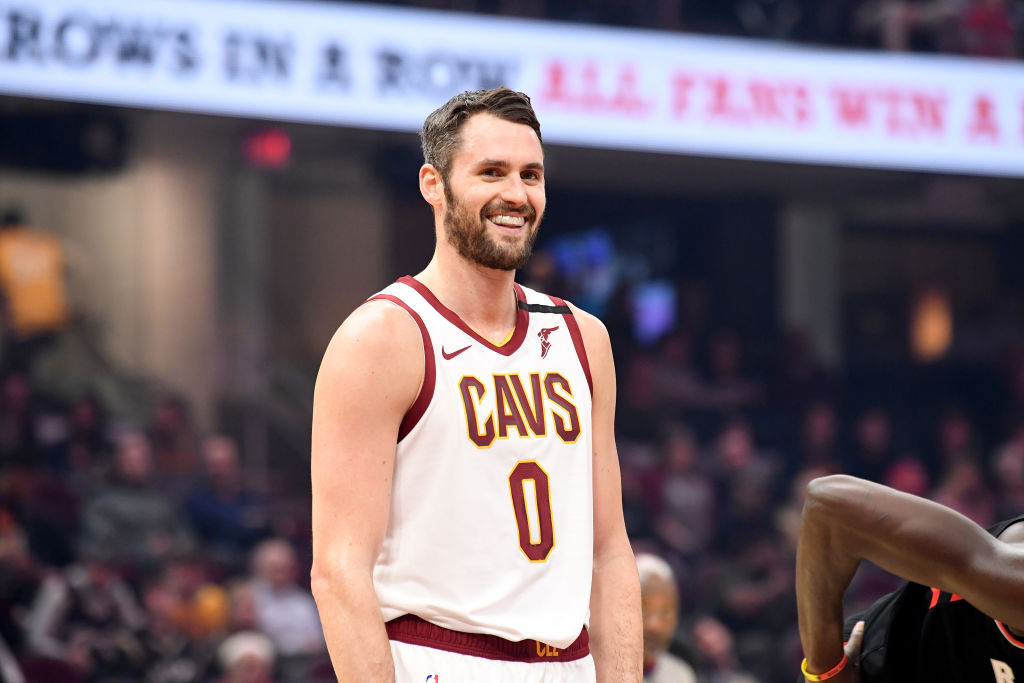 Kevin Love Inspiring Other NBA Players To Help Arena Workers