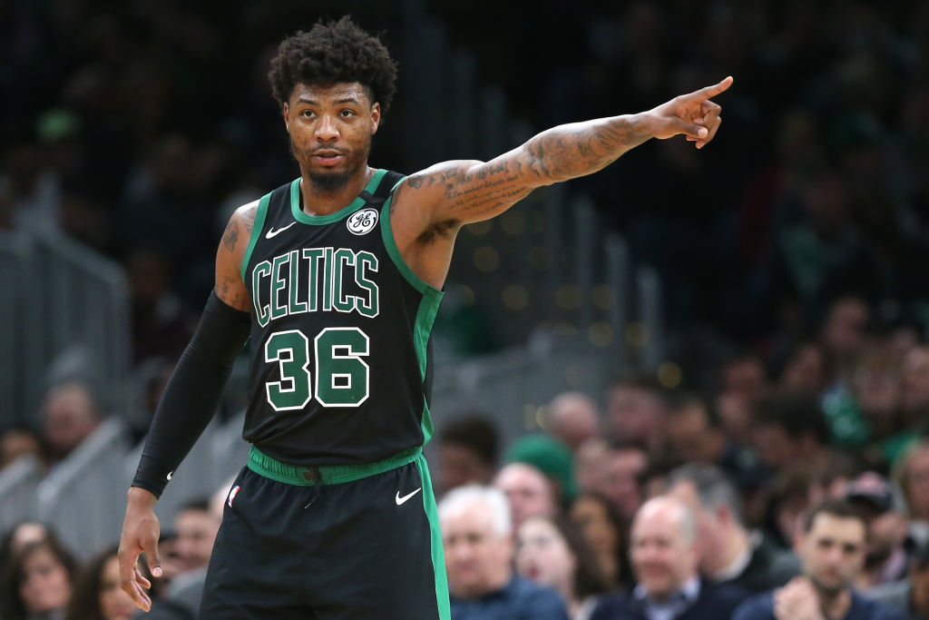Marcus Smart Reveals He Tested Postive For The Coronavirus