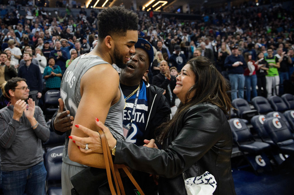 Karl-Anthony Towns Mom Is In A Coma After Showing COVID-19 Symptoms