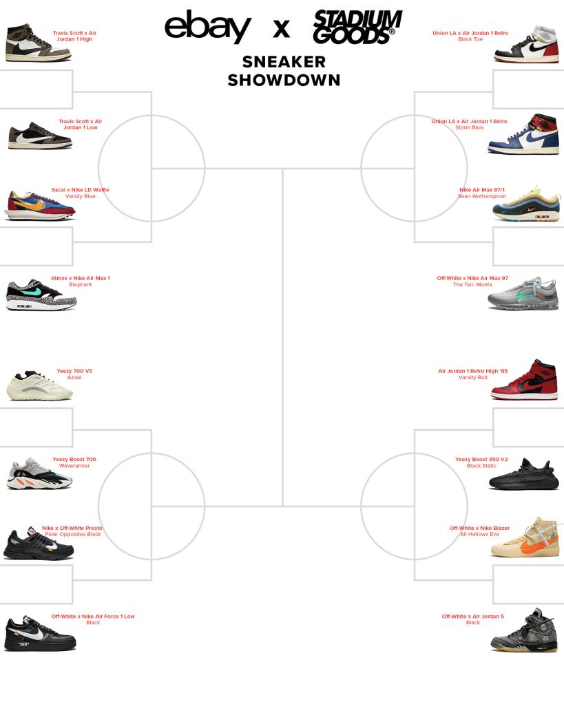 eBay and Stadium Goods 'Sneaker Showdown'