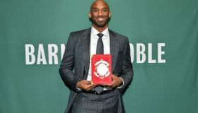 "Kobe Bryant Signs Copies Of His Book ""Training Camp (The Wizenard Series #1)"""