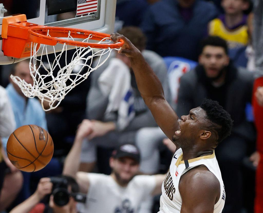 NBA: MAR 01 Lakers at Pelicans