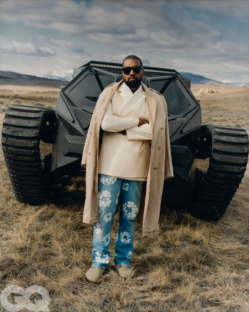 Kanye West in GQ May 2020