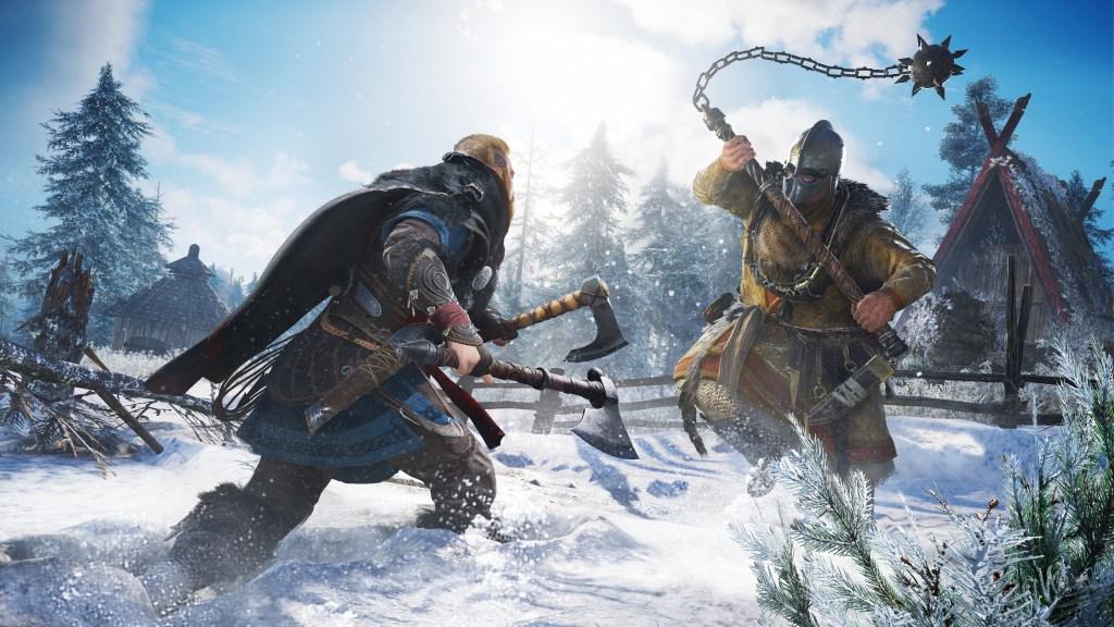 Assassins creed Valhallakingship fight