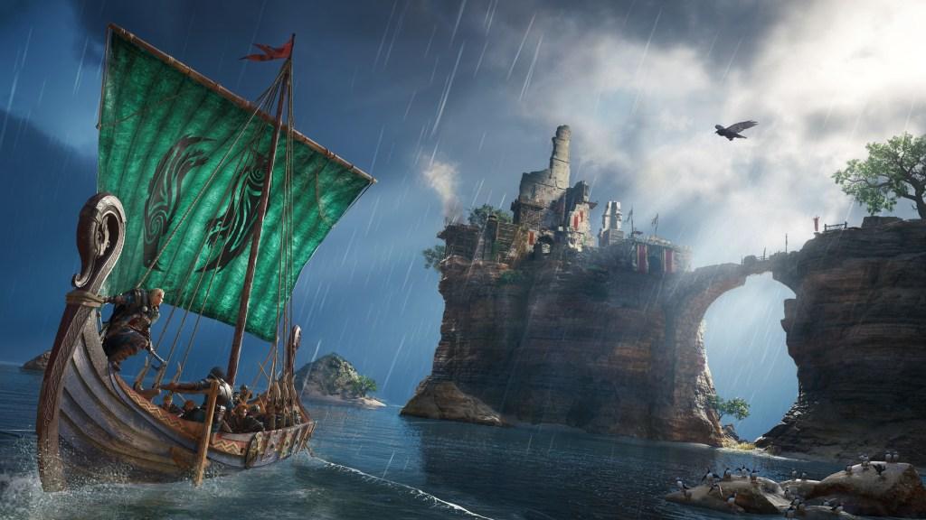 Assassins creed Valhalla longship