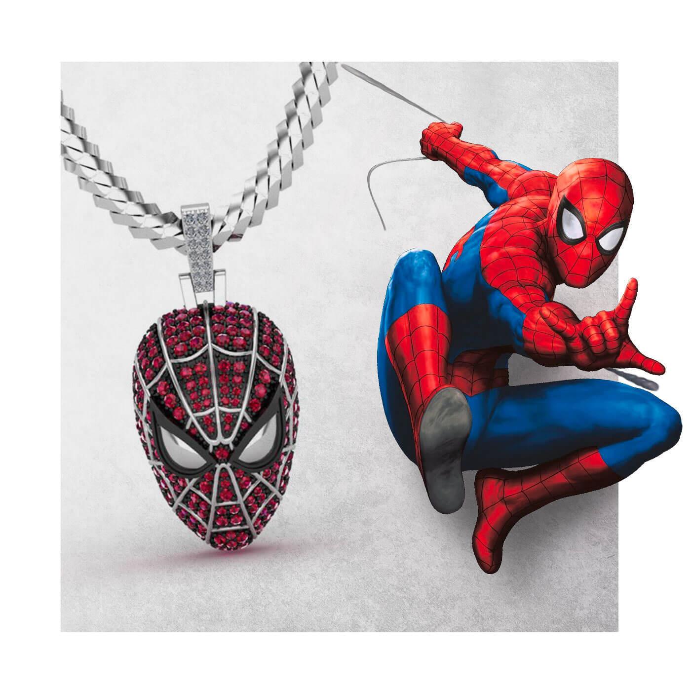 GLD x MARVEL Partner to Create Jewelry Based on Iconic Superheroes