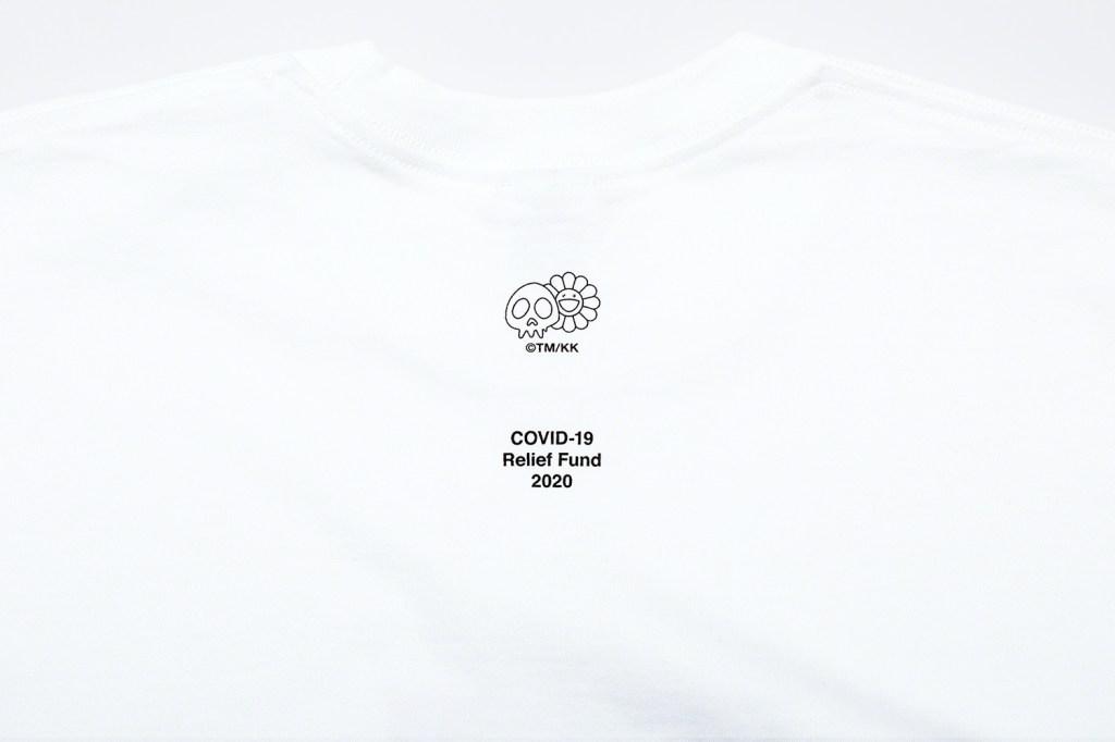 Supreme Takashi Murakami Coronavirus t shirt