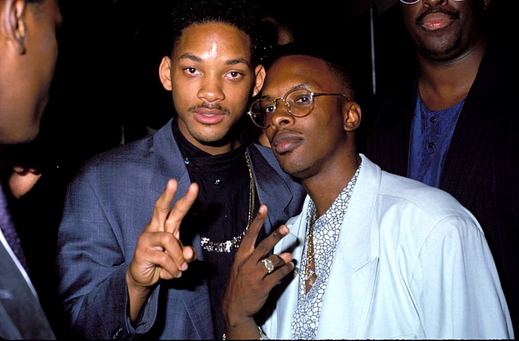 Will Smith And Jazzy Jeff At The 1991 Video Music Awards