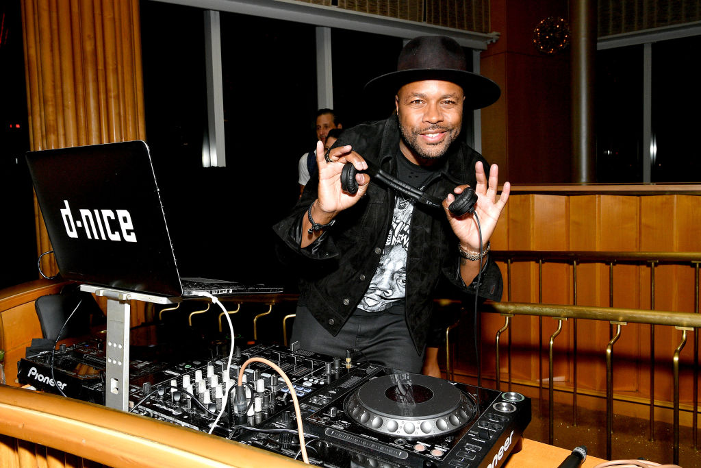 "Here's How You Can Virtually Hangout & Say ""Whassup"" To DJ D-Nice"