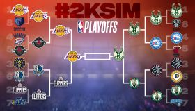 NBA 2K20 #2KSIM Playoffs