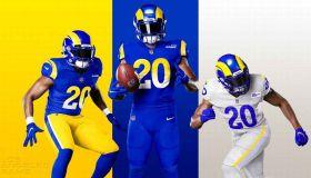 Rams Unveil New Uniforms For 2020 Season