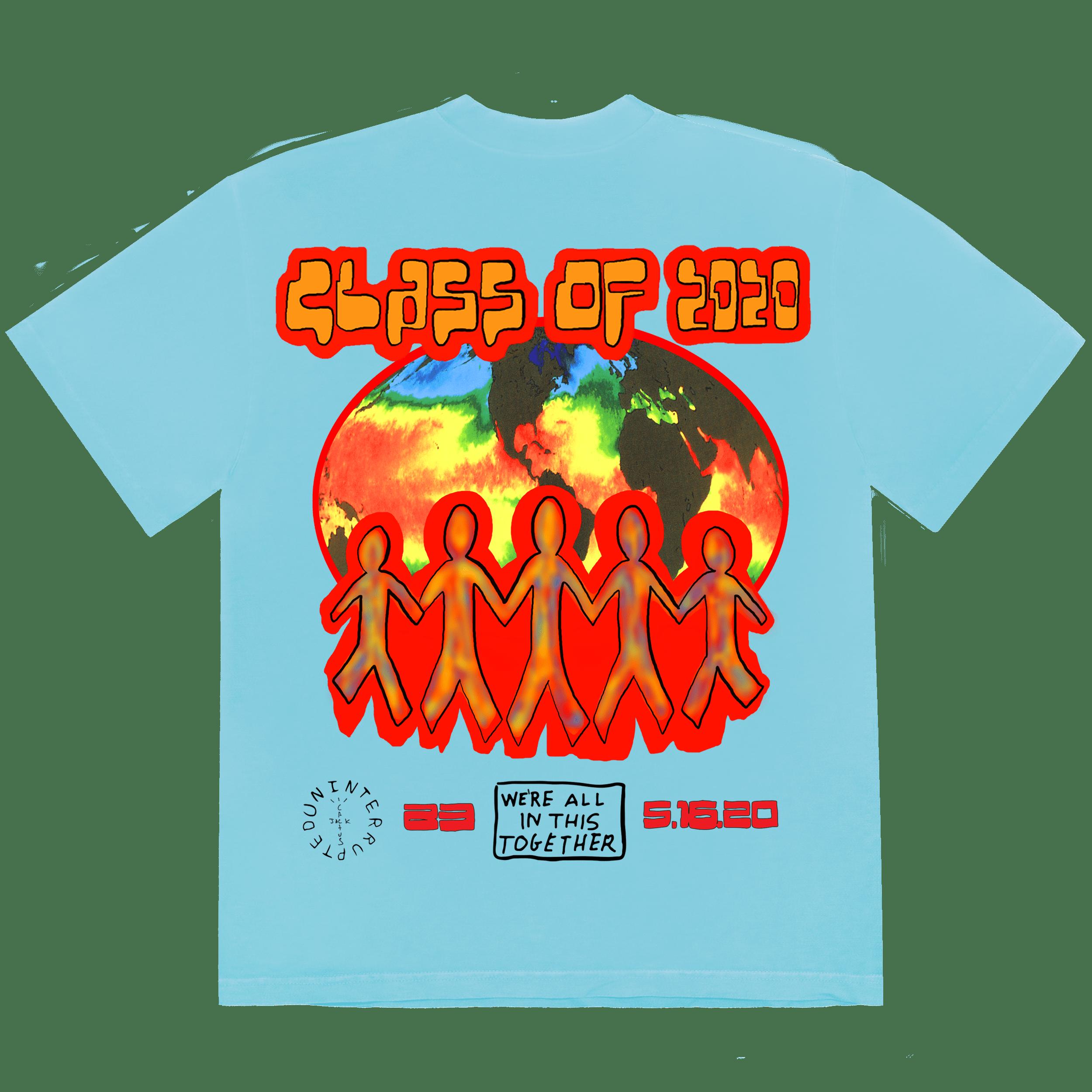 Travis Scott and LeBron 2020 Graduation Shirt