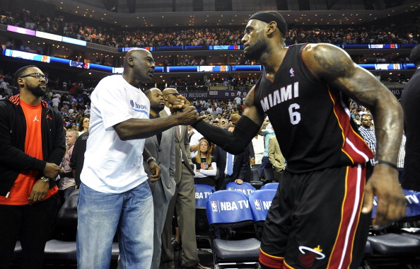 NBA: Heat v Bobcats Game 4