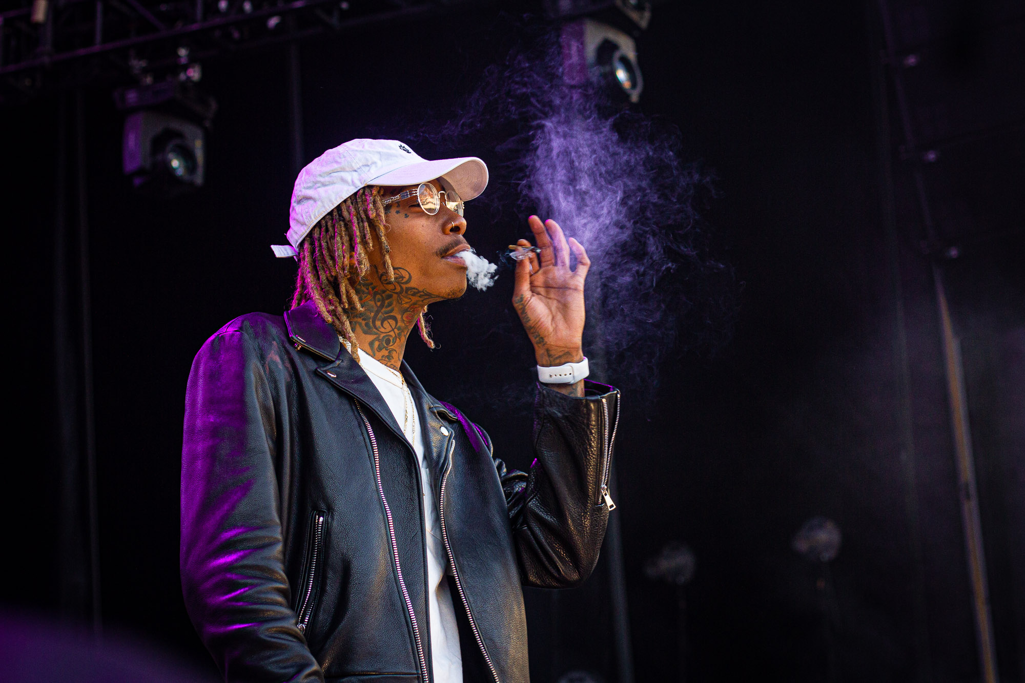 Wiz Khalifa Hints He Is Done Wearing Masks In A Tweet