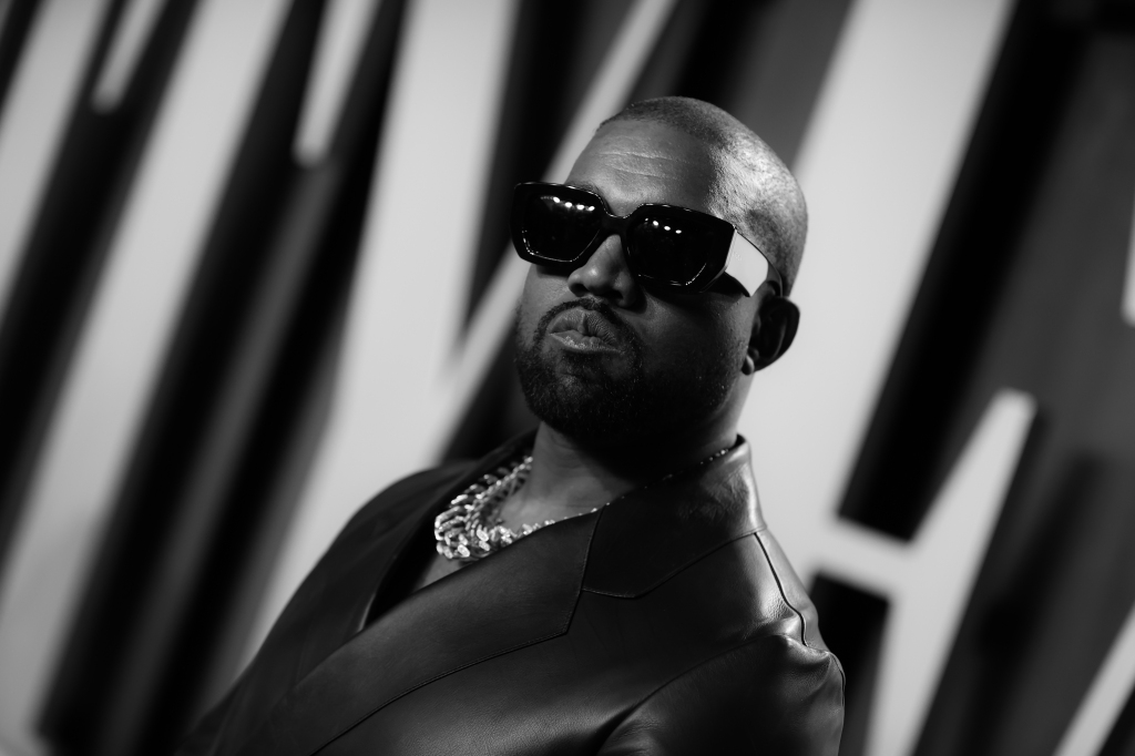Kanye West Vanity Fair Oscars Party 2020