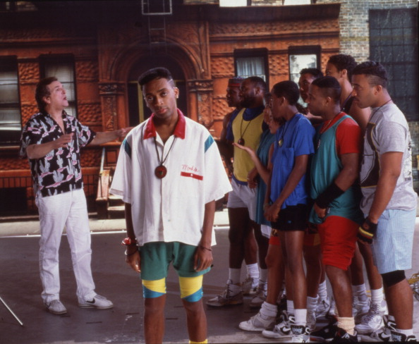 Lee, Aiello, & Others In 'Do The Right Thing'