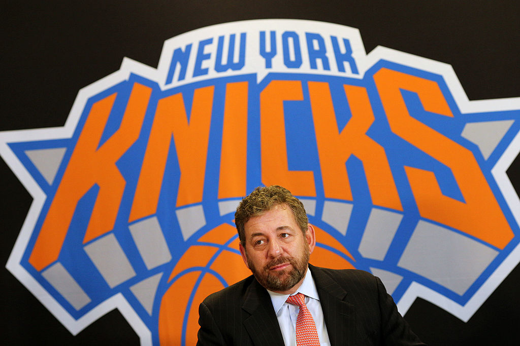 Phil Jackson. New York Knicks Press Conference. Madison Square Garden. New York. USA