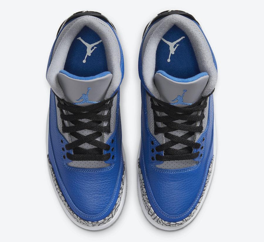 Air Jordan 3 Varsity Blue