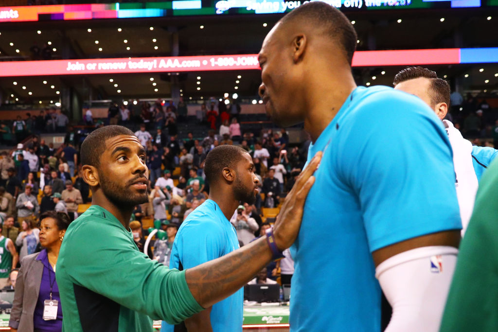 Dwight Howard Sides With Kyrie Irving & Believes NBA Should Not Restart