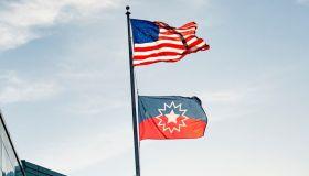 Juneteenth Flag At Fenway Park