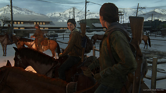 The last of us 2 riding