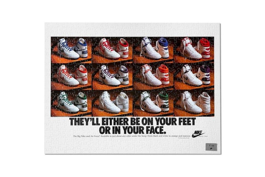 Nike Puzzle Vintage Ads