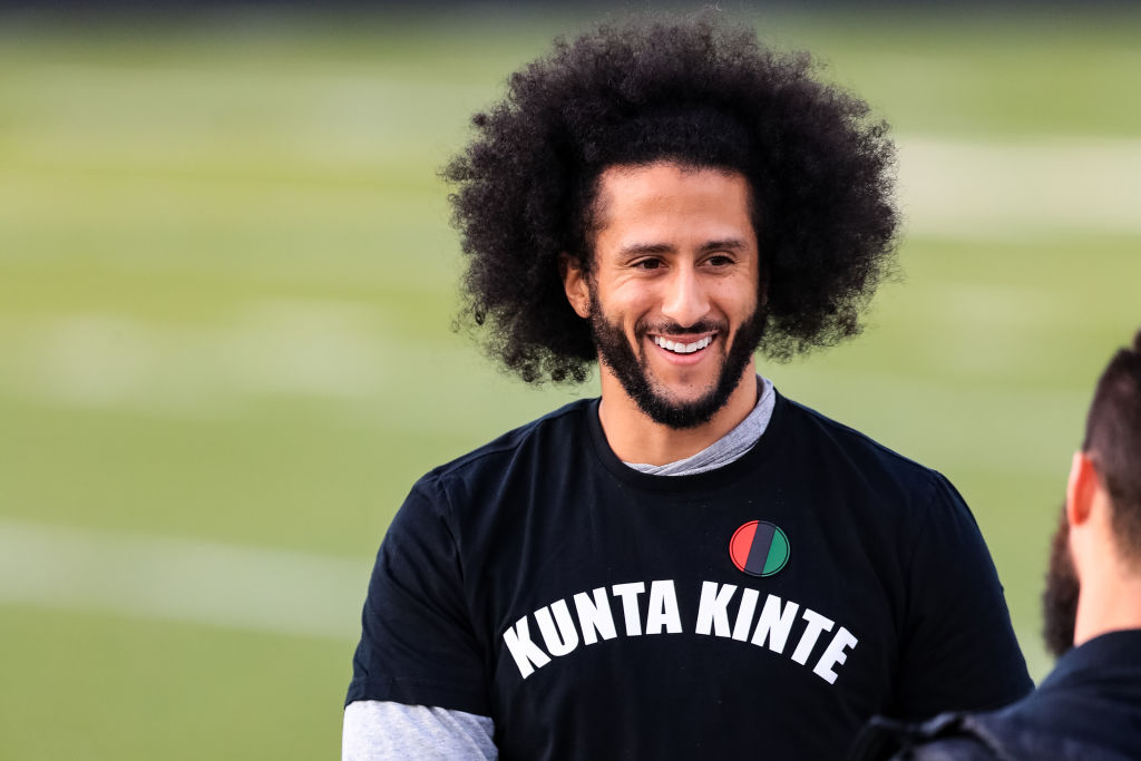 Colin Kaepernick Announces First-Look Deal With Disney