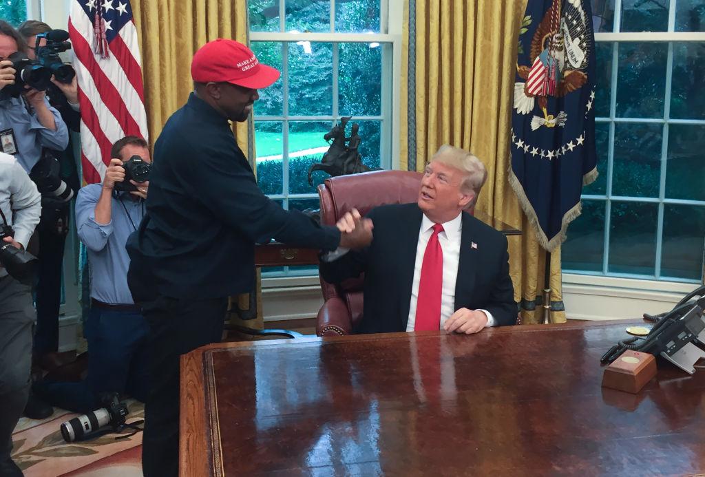 Donald Trump Believes Kanye West Can Take Black Votes Away From Joe Biden
