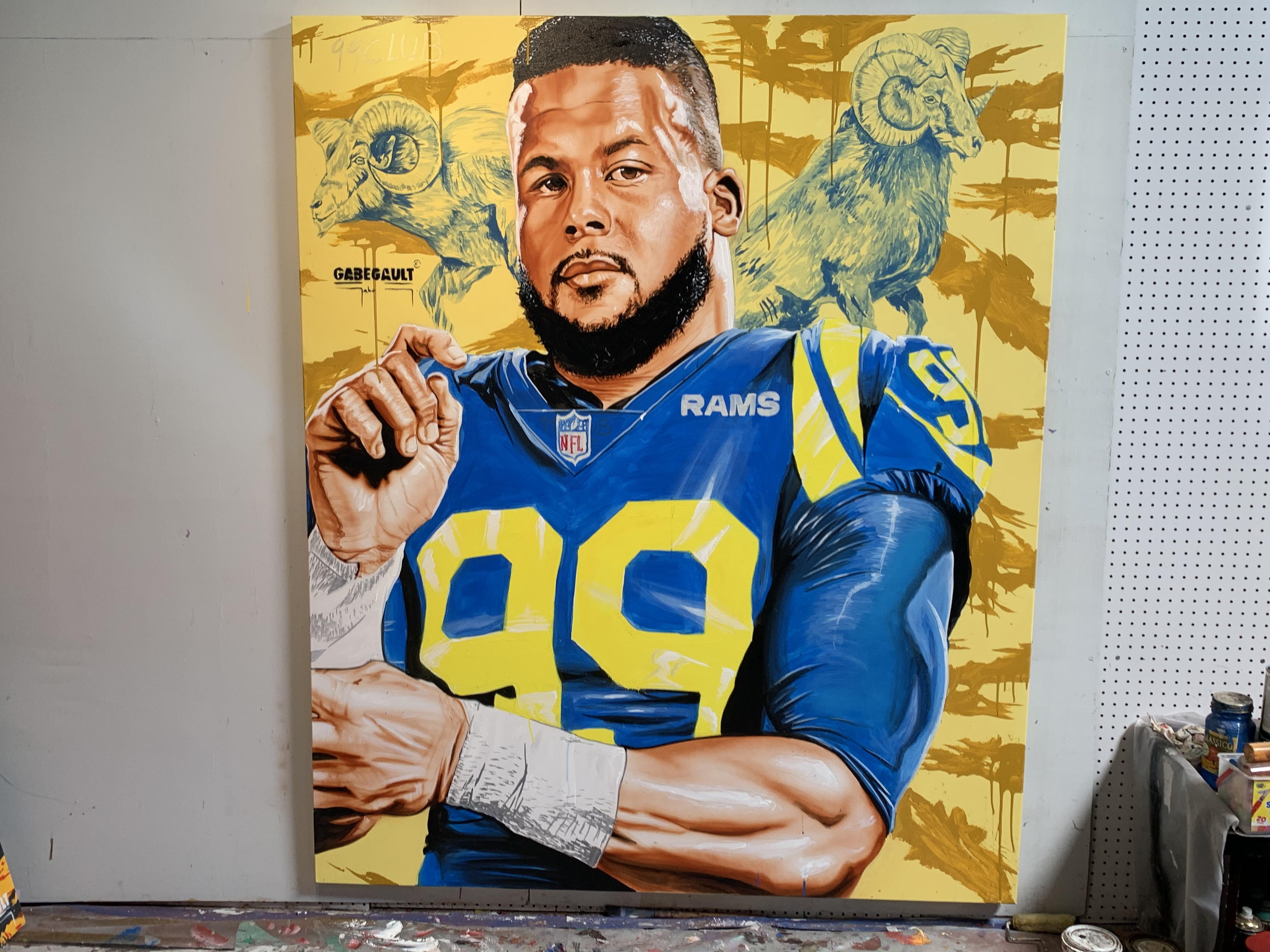 LA Rams' Aaron Donald Joins Madden NFL 21's 99 Club