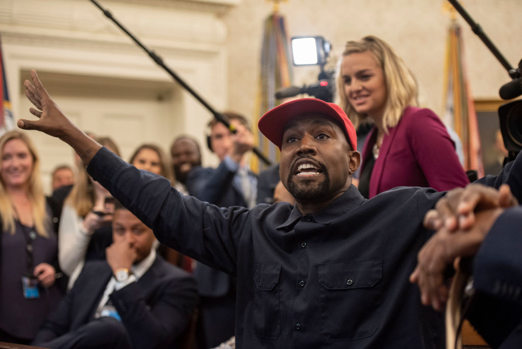 The Kardashians Reportedly Upset With Kanye West Following Bizarre Rally