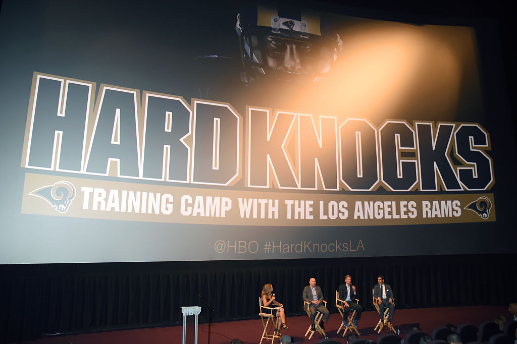 "LA Premiere Of HBO's ""Hard Knocks: Training Camp With The Los Angeles Rams"""