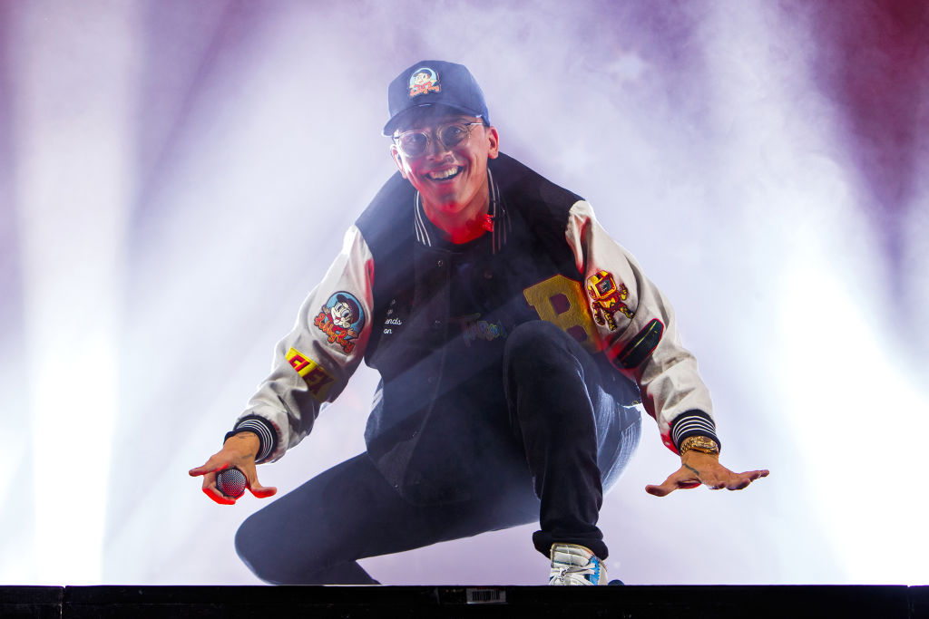 Logic Performs Alexandra Palace , London
