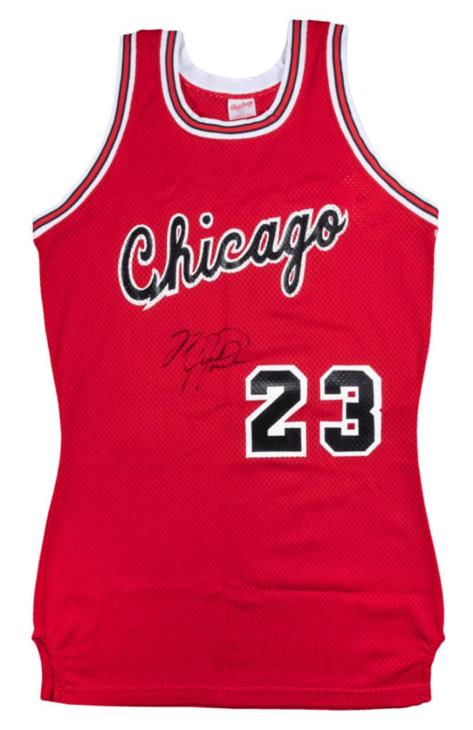 Michael Jordan Rookie Jersey
